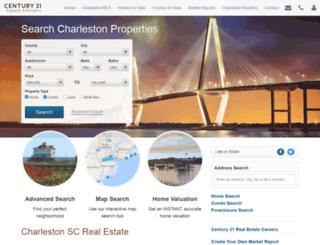 c21charlestonrealestate.com screenshot