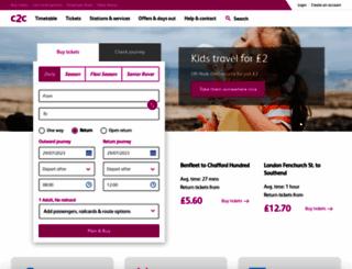 c2c-online.co.uk screenshot