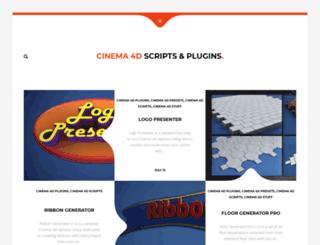 c4dscripts.com screenshot