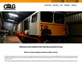 c58lg.co.uk screenshot