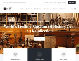 ca-africanroyalmuseum.org screenshot