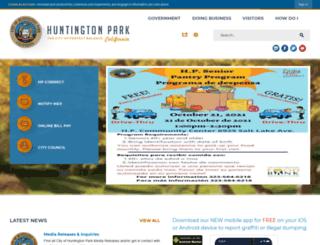 ca-huntingtonpark2.civicplus.com screenshot