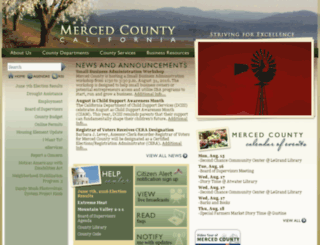 ca-mercedcounty.civicplus.com screenshot