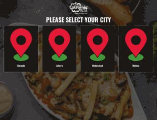 ca-pizza.com screenshot