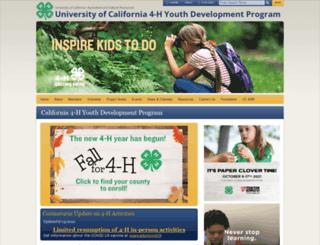 ca4h.org screenshot