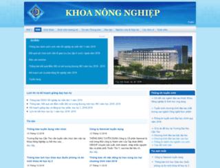 caab.ctu.edu.vn screenshot