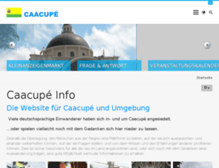 caacupe-info.com screenshot