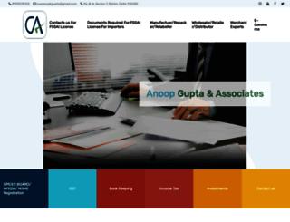 caanoopgupta.com screenshot