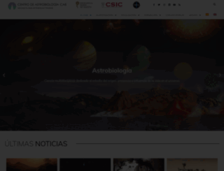 cab.inta-csic.es screenshot