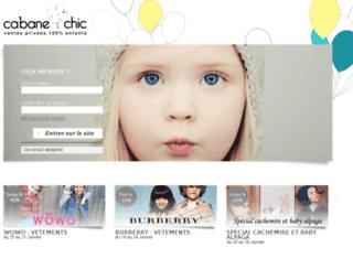 cabane-chic.com screenshot