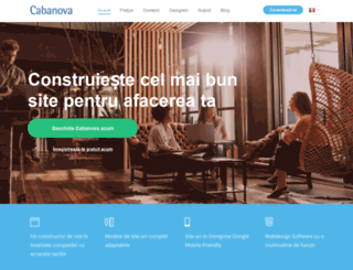 cabanova.ro screenshot