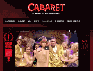 cabaret.es screenshot