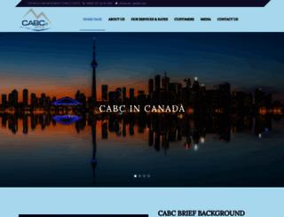cabc-global.com screenshot