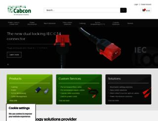 cabcononline.co.uk screenshot
