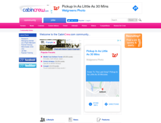 cabincrew.com screenshot