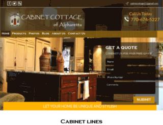 cabinetcottage.net screenshot