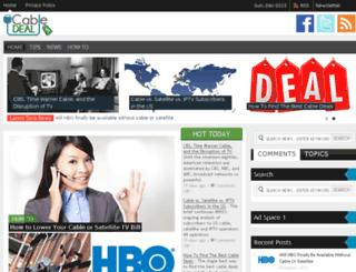 cable-deal.com screenshot
