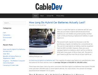 cabledev.net screenshot