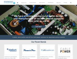 cablepower.co.uk screenshot