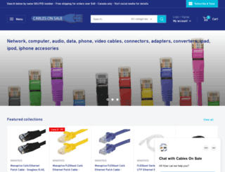 cablesonsale.ca screenshot