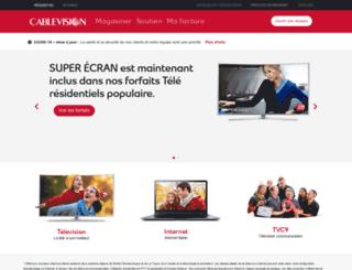 cablevision.qc.ca screenshot