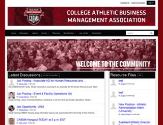 cabma.nacda.com screenshot