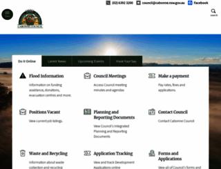 cabonne.nsw.gov.au screenshot