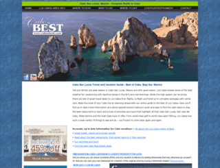 cabosbest.com screenshot