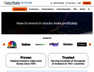 cabot.net screenshot
