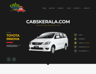 cabskerala.com screenshot