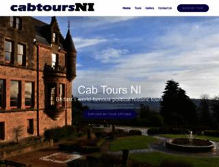 cabtoursni.com screenshot