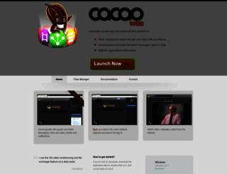 cacaoweb.org screenshot