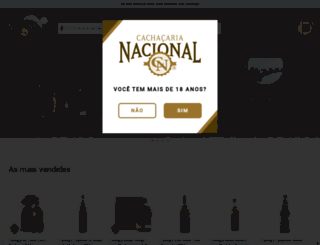 cachacarianacional.com.br screenshot