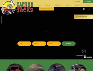 cactusjacksauto.com screenshot