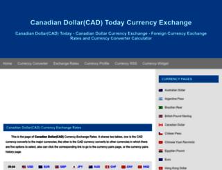 cad.fx-exchange.com screenshot