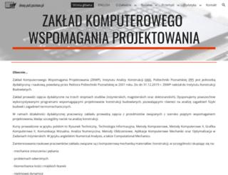 cad.put.poznan.pl screenshot