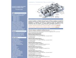 cadastru.info screenshot