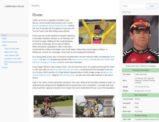 cadelevans.com.au screenshot