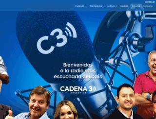 cadena3comercial.com.ar screenshot