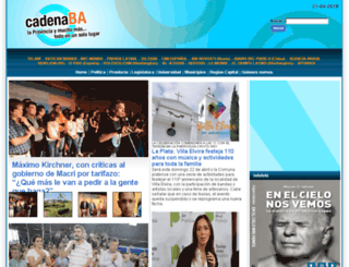 cadenaba.com.ar screenshot
