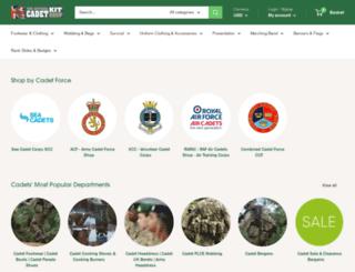 cadetkitshop.com screenshot