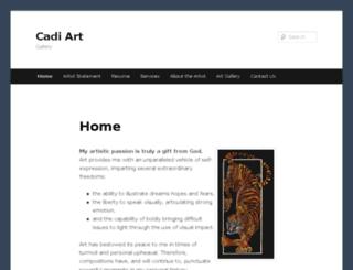 cadiart.com screenshot