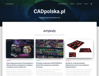 cadpolska.pl screenshot