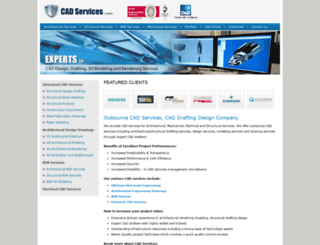 cadserviceslondon.com screenshot