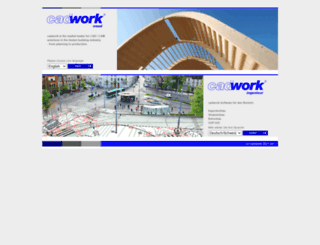 cadwork.com screenshot