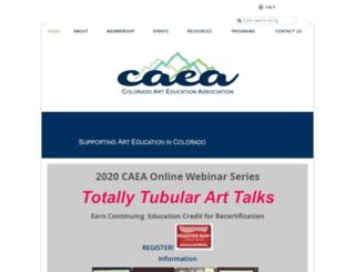 caeaco.org screenshot