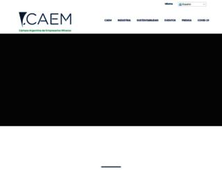 caem.com.ar screenshot