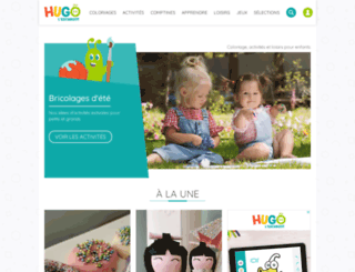 cafe.hugolescargot.com screenshot