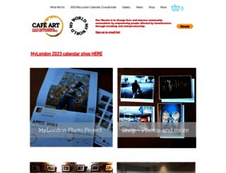 cafeart.org.uk screenshot