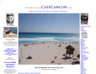 cafecancun.com screenshot